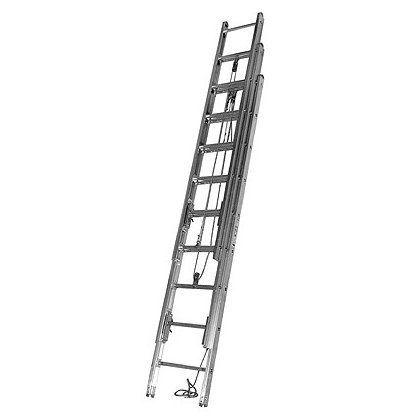 Duo-Safety: 1225-A 3-Section Aluminum Extension Ladder