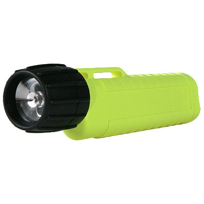 "Underwater Kinetics 4AA Dual Level Zoom Class 1 Div 2 eLED Flashlight, 4 AA Batteries, 77 Lumens, 6.7"" Long"