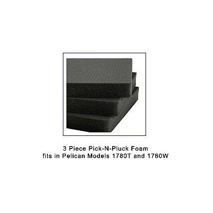 Pelican: 3 Layer Pick-N-Pluck Foam for Model 1780T
