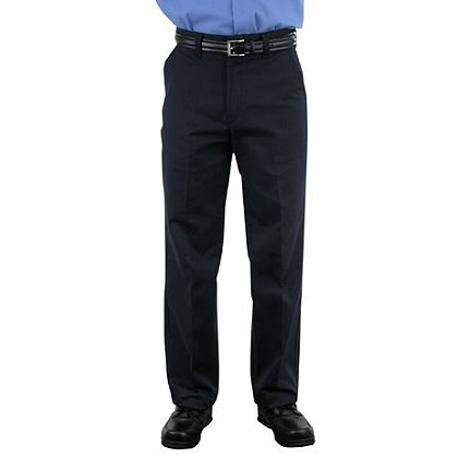 LION StationWear: Traditional Uniform Trousers, NOMEX IIIA, Unhemmed, Navy Twill