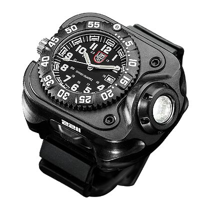Surefire 2211 Wristlight with Luminox Watch