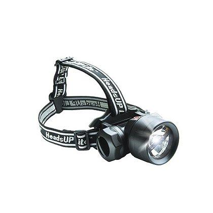 Pelican 2680 HeadsUP Recoil LED Headlight, 4 AA Batteries, 79 Lumens, 4.64� Long