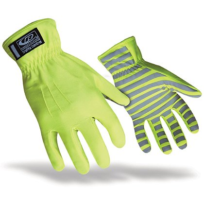 Ringers Hi-Vis/Reflective Traffic Glove, Green