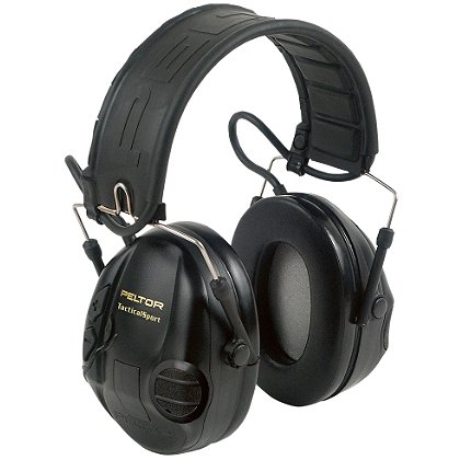3M Peltor Tactical Sport Hearing Muff, NRR 20 dB Folding Headband