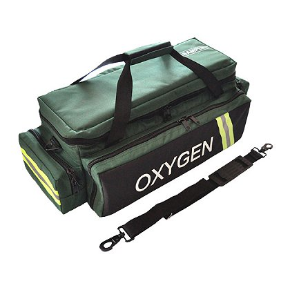 Exclusive Standard Oxygen Bag, Green  600D Polyester, 27