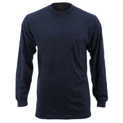 5.11 Tactical: Station Wear Long Sleeve T-Shirt, Dark Navy