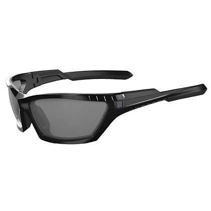 5.11 Tactical: CAVU Full Frame, Plain Lens Sunglasses, Black