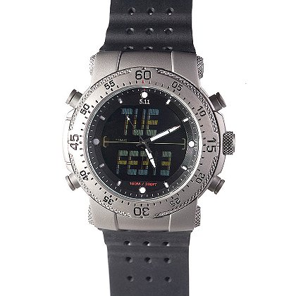 5.11 Tactical HRT Watch - Titanium Case