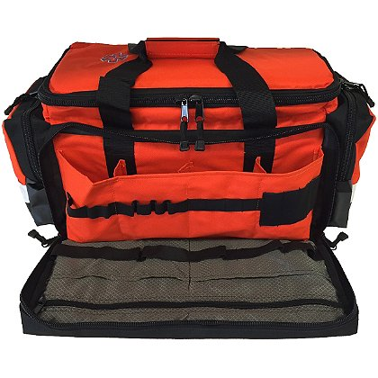 TES: Basic Elite Trauma Bag, Orange  600D Polyester, 25.25