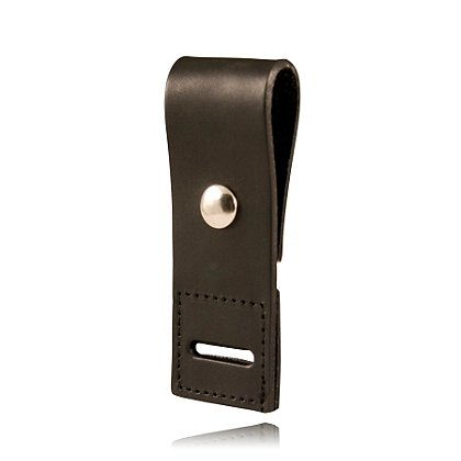 Boston Leather Plain Epaulet Shoulder Mic Holder w/ Reinforced Slot