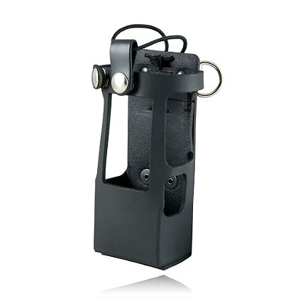 Boston Leather Radio Holder for the Motorola APX 6000xe