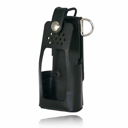 Boston Leather: Firefighter's Radio Holder for Motorola HT750/1250