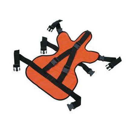 TES Restraint Pediatric Seat, Orange Impervious