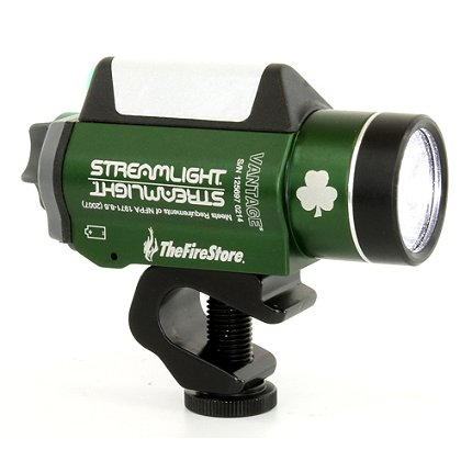 Streamlight: TheFireStore EXCLUSIVE Green Vantage, C4 LED Helmet-Mounted Light