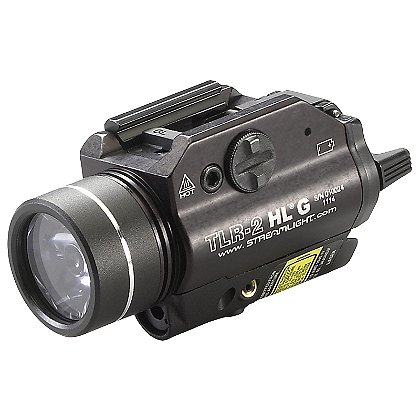 Streamlight: TLR-2 HL G Rail-Mounted Flashlight with Green Laser