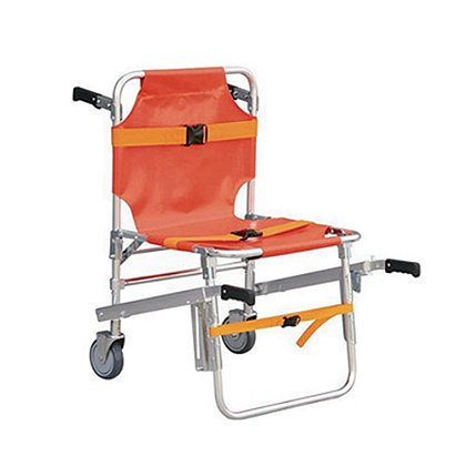 TES: Standard Stair Chair, Orange Aluminum