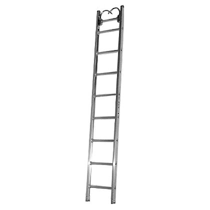 Duo-Safety 775-A Aluminum Roof Ladder, Pumper Style