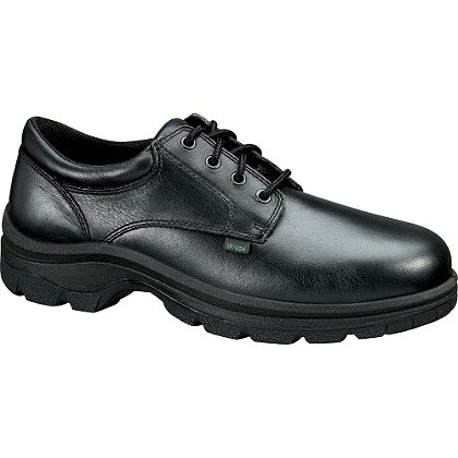 Thorogood: Soft Streets Plain Toe Oxford with Safety Toe