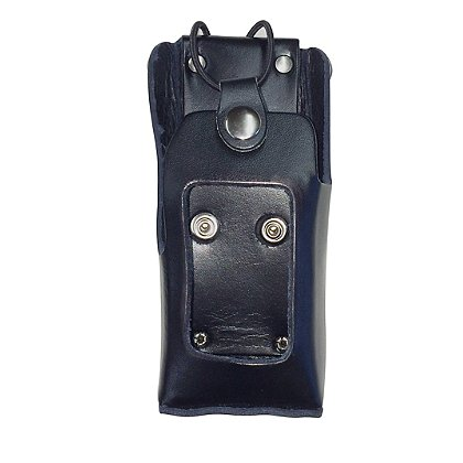 Leathersmith Radio Case Fits Harris XG-75 with Full Keypad and Display