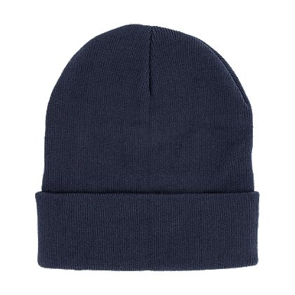 TheFireStore Superior Knit Beanie,12 inch, Navy or Black