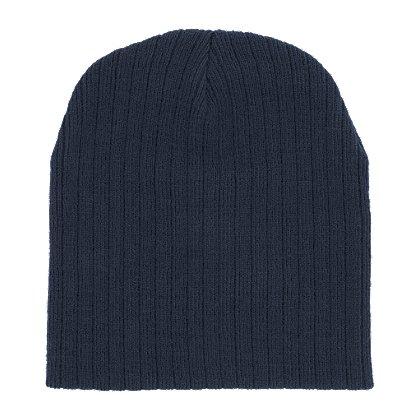 TheFireStore Superior Knit Beanie, 8 inch, Black
