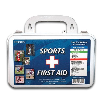 Fieldtex: Coach's Medium Plastic First Aid Kit