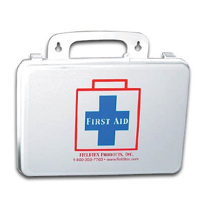 Fieldtex: Medium Plastic First Aid Kit