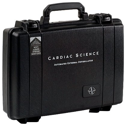Cardiac Science Hard sided, waterproof carrying case for AED
