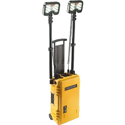Pelican: 9460 Dual Head Remote Area LED Lighting System, 12v Rechargeable Battery, 6000 Lumens, 22