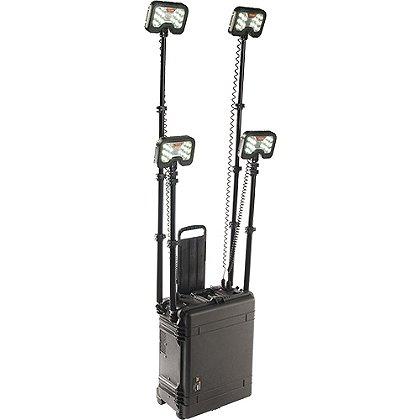 Pelican: 9470 Remote Area Lighting System, 4 Lamp Heads