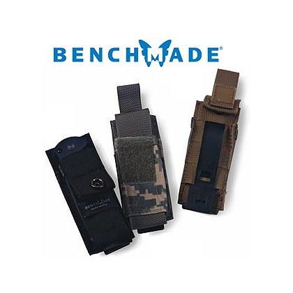 Benchmade MOLLE Utility Pouch, Fits Most Benchmade Folding Knives, Black