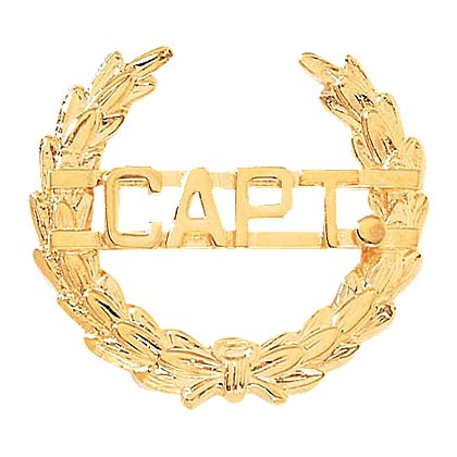 Blackinton: A4993-A, CAPT Wreath Insignia