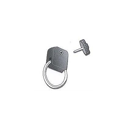 Gear Keeper Add-A-Clip Stainless Steel Split Ring