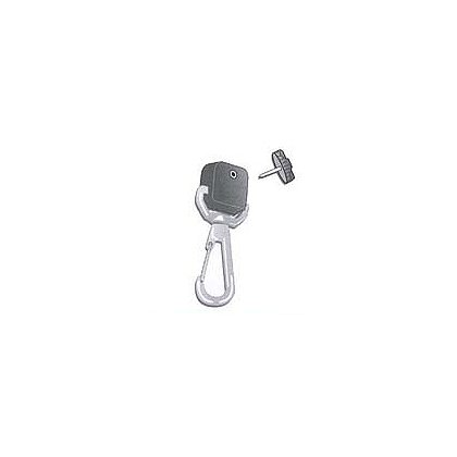 Gear Keeper Add-A-Clip Stainless Rotating Snap Clip