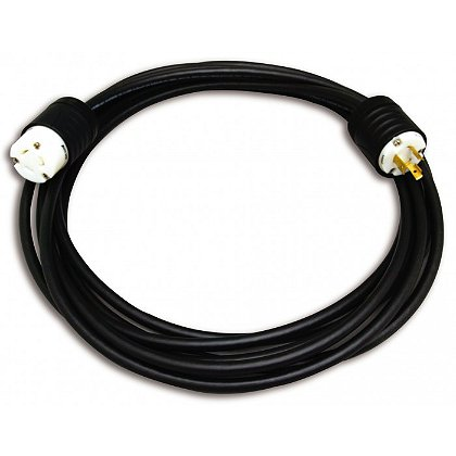 Akron: Black Seoprene 105 10/3 300V power cord