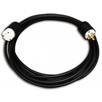 Akron: Black Seoprene 105 10/3 300V power cord