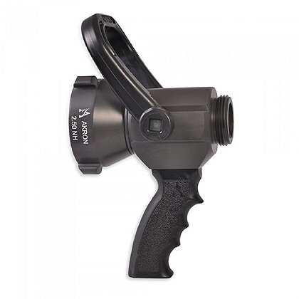 Akron: 2 1/2'' x 1 1/2'' Shutoff with Pistol Grip