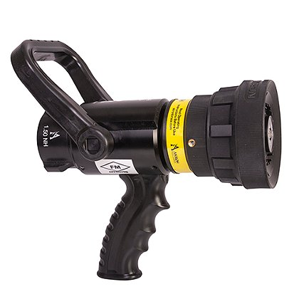 Akron: 2 1/2'' High Range Assault Nozzle with Spinning Teeth and Pistol Grip