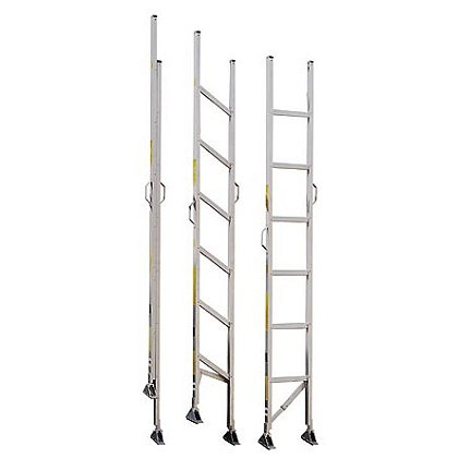 Alco-Lite Folding Aluminum Closet Ladder