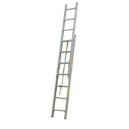 Alco-Lite: 3-Section Aluminum Extension Ladder