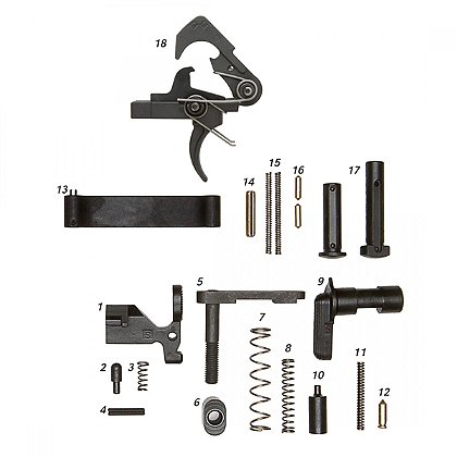 ALG Defense: Complete Lower Parts Kit with QMS Trigger