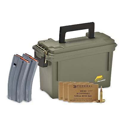 Exclusive Ammo Can Kit, 60 Rounds, 5.56x45mm NATO