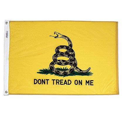 Annin Flagmakers  Gadsden 3 x 5' Nyl-Glo Historical Flag