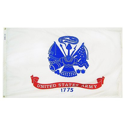 Annin Flagmakers: US Army 3' x 5' Nyl-Glo Military Flag