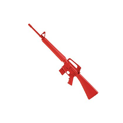 ASP Red Training Gun Government M16