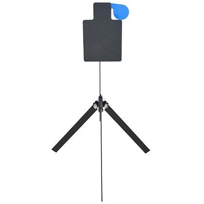 Action Target Standard AR500 Steel Rimfire Hostage Practice Target with Reactive Swinging 4