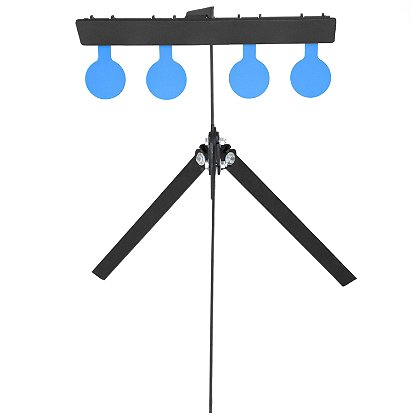 Action Target: Standard AR500 Steel Rimfire Mini Gong Practice Targets with (4) 4