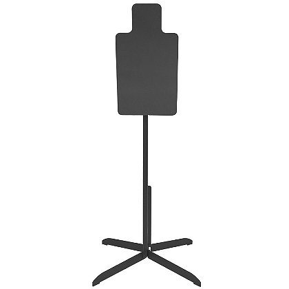 Action Target: Heavy Duty Steel Torso Practice Target with 3' Stand