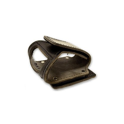 Leather Axe Cradle, Black