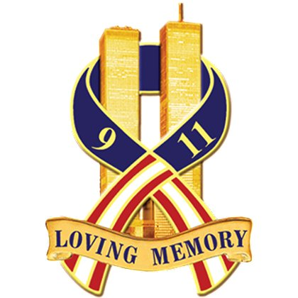 Blackinton Loving Memory Clutch Pin